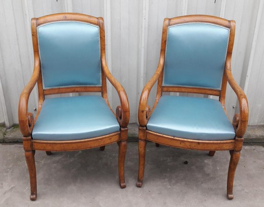 Antique armchairs
