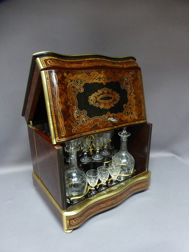 Antique liquor set Napoleon III