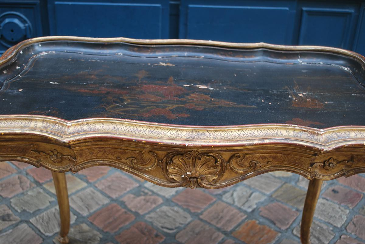 Chinoiserie Antique Table