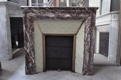 Antique Louis XIII fireplace