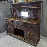 Antique half-cupboard