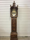 Astronomical grandfather clock