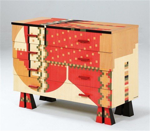 chest of drawers by Alessandro Mendini