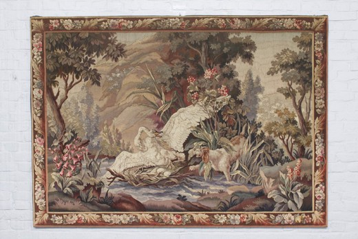"Antique tapestry ""Hunting"""