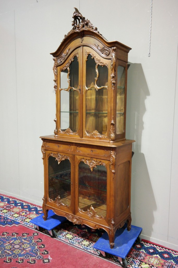 Antique Liege vitrine