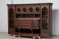 Antique buffet in Art-deco style