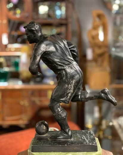 "Antique sculpture ""Football player"""