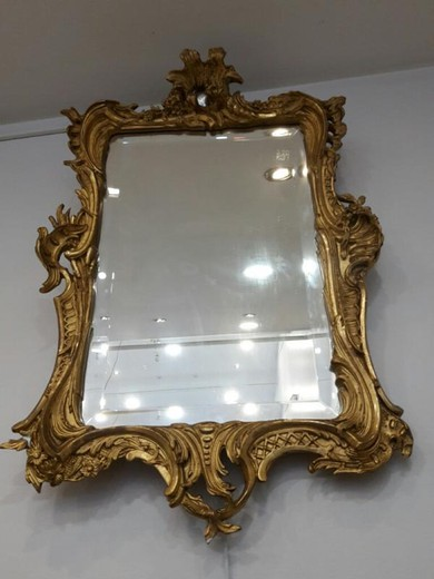 Antique Louis XV mirror