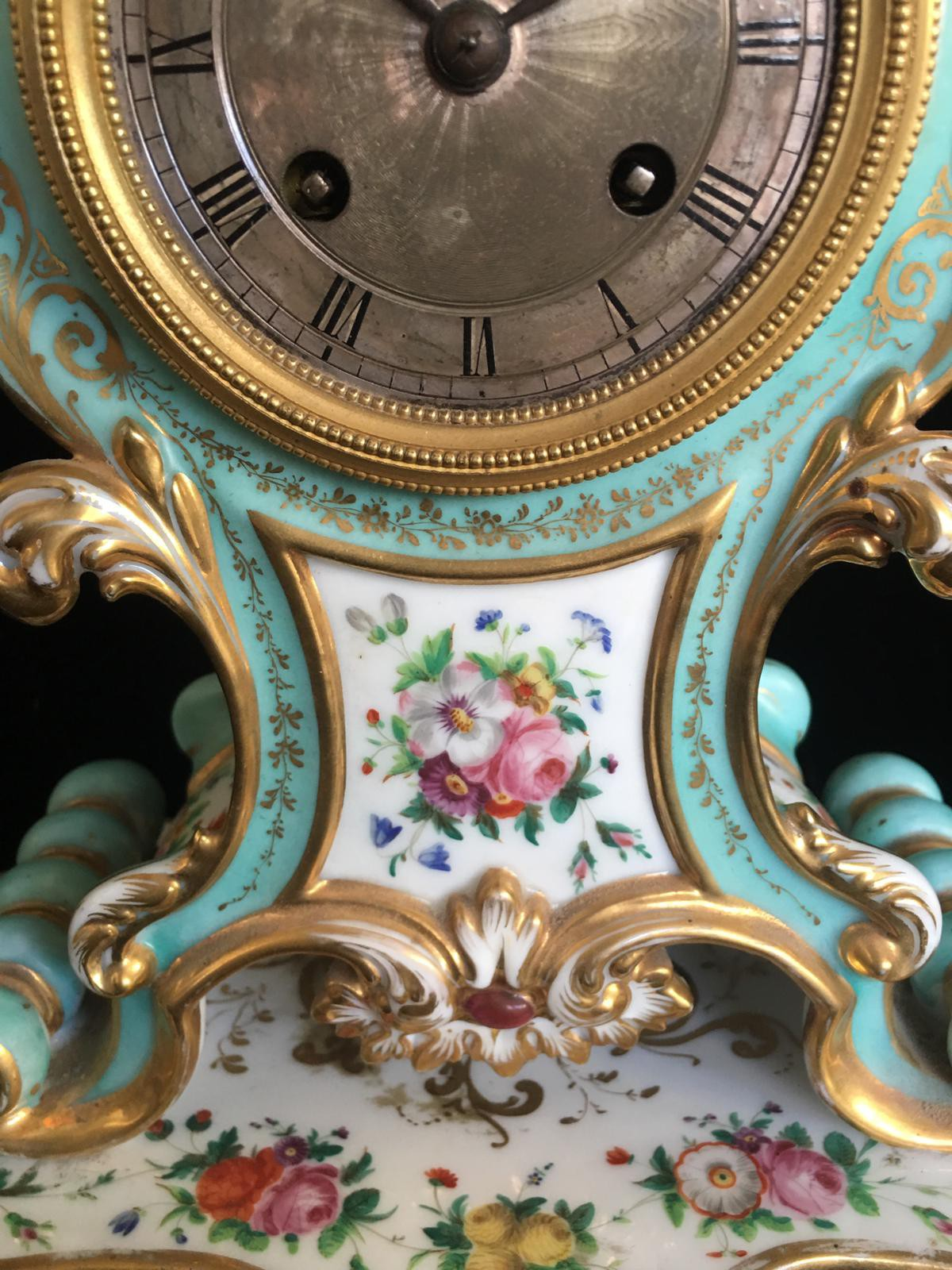"Antique Clock ""Old Paris"""