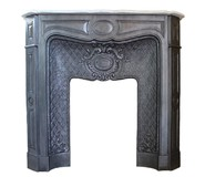 Antique Larcher fireplace