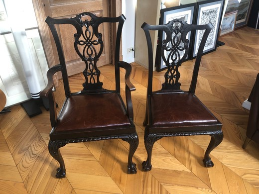 Chippendale Antique Dining Set