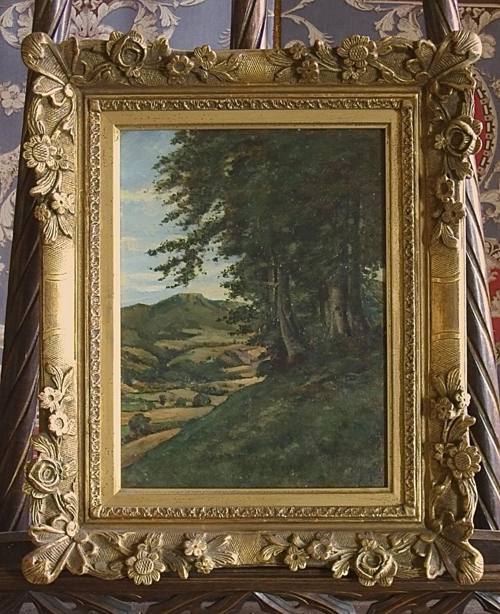 Old french painting