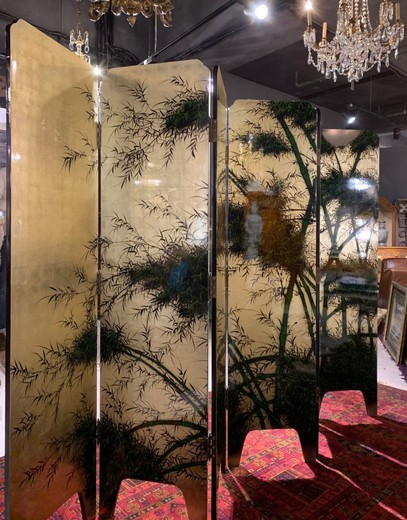 Ancient Japanese screen