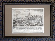 "Antique engraving ""Derbent"""