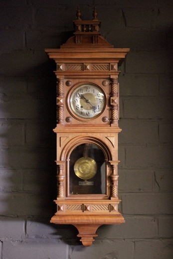 Antique wall clock Henri II