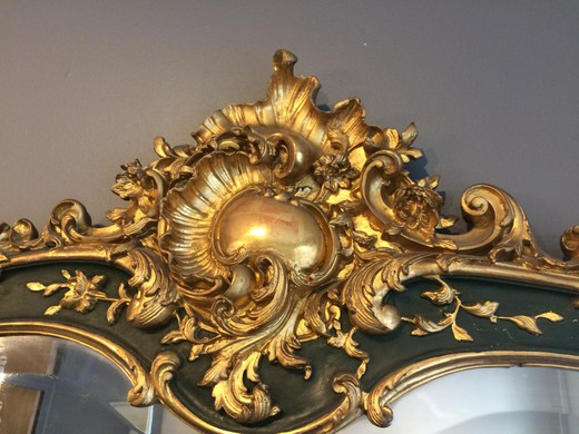 Antique mirror Louis XV