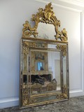 Antique gilt mirror XVIIIth C.