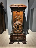 antique cast iron stove art nouveau