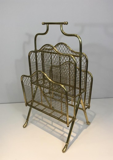 Antique stand for magazines and newspapers