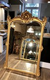 Antique Louis XV gilt mirror