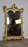 Antique gilt Louis XV mirror