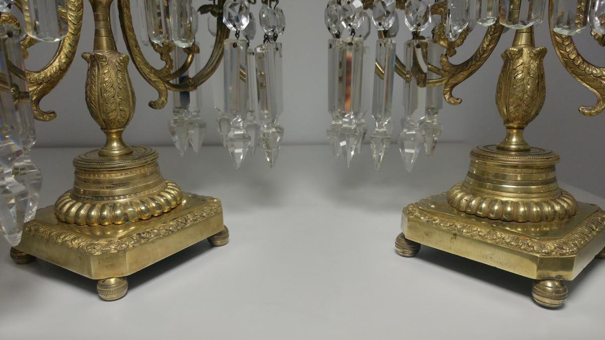 Paired Candelabra