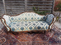 Antique couch recamie
