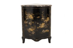 Chinoiserie Corner Chest of Drawers