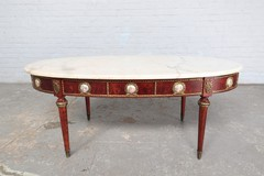Antique Louis XVI style coffee table