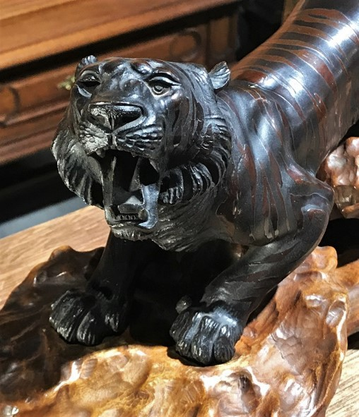 "Antique sculptural composition ""Tiger"""