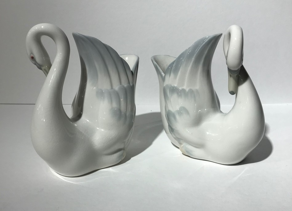 Antique pair sculptures