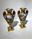 Antique paired vases