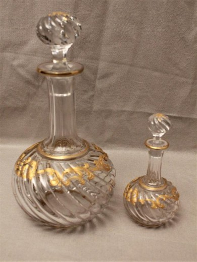Antique set Baccarat