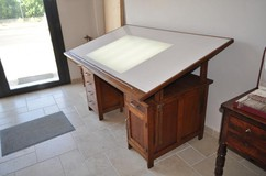 Antique architect' working desk