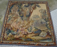 "Antique tapestry ""Call of the Birds"""
