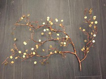"Vintage wall panels ""Branch"""