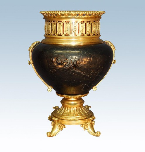 Antique Napoleon III planter