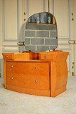 Antique art-deco lady desk