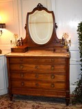 Antique Louis XVI style lady desk