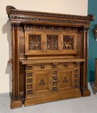 Antique Renaissance Sideboard