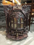 Antique enameled stove