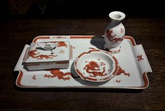 Antique porcelain set