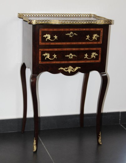 An antique ladies' table