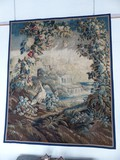 "Antique tapestry ""Exotic Flora"""