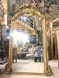 Antique fireplace Napoleon III mirror