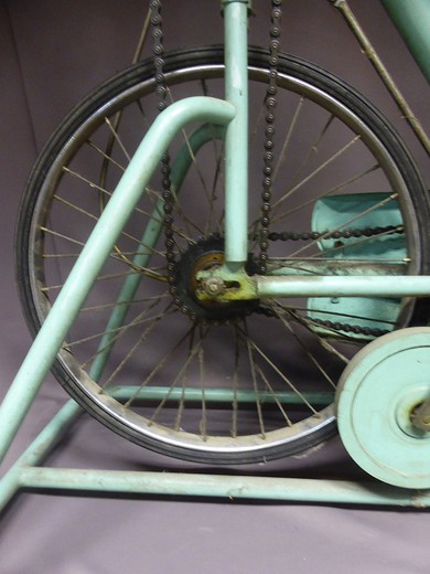 Antique home flat bike