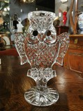 "Candlestick ""Crystal Owl"""