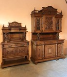 Antique buffet and credence Renaissance