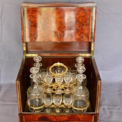 Antique liquor set Napoelon III