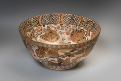 Antique big Asian bowl